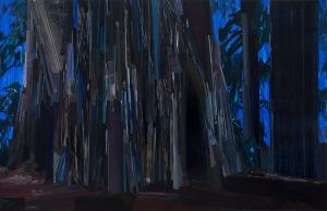 Tree, 9 x 14', Oil on Canvas, 2012